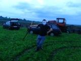 после неудачного ремонта трактора)))))