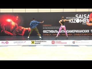 Salsaton with Yoandi & Diana @ Moscow Salsa & Kizomba Festival 2014